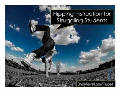 Flipping Instruction for Struggling Students | Tech Learning | iPads for Education | Scoop.it