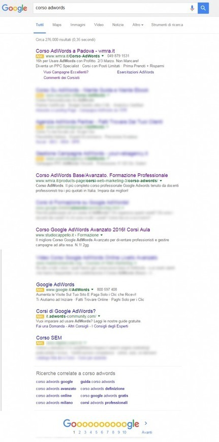 Meno Annunci AdWords In Sidebar: Nuove Strategie PPC? | Marketing_me | Scoop.it