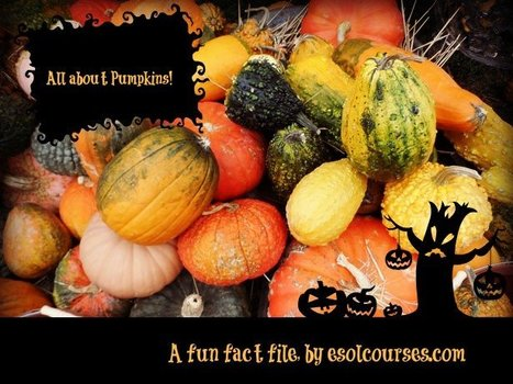 All About Pumpkins! | Topical English Activities | Scoop.it