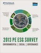 What percentage of Private Equity firms have ESG programs today? | Sustainable Investment | Scoop.it