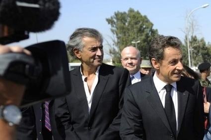 Bernard-Henri Lévy-Sarkozy : de la Libye à la Tunisie, de l'Elysée à la Cour Pénale Internationale | artslogic | Scoop.it
