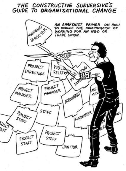 The Constructive Subversive's Guide to Organizational Change | ROAR Magazine | Daraja.net | Scoop.it