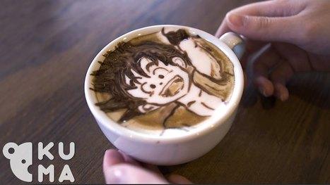 His 2D/3D Latte Art Skills Are Over 9000! | Creativ Focus | Scoop.it