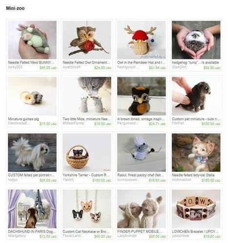 Twitter / GiftGuide_Etsy: Cute felt toys https://t.co/96 ... | Googling | Scoop.it