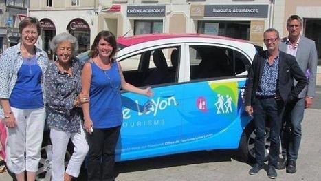 La voiture électrique Topette a attiré les curieux   L'Office de Tourisme   Scoop.it