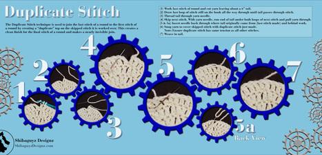 Crochet and Knit Patterns by Shibaguyz Designz | Fiber Arts | Scoop.it
