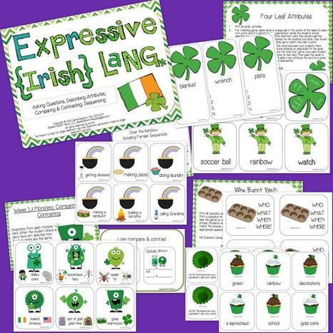 Expressive Language for St. Patty! | Speech-Language Pathology | Scoop.it