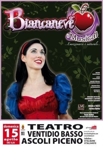 """Biancaneve il Musical"" - Snow White  the musical  in Le Marche 