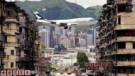 Breathtaking photos of Hong Kong airport glory days | Quirky Travel and Weather | Scoop.it