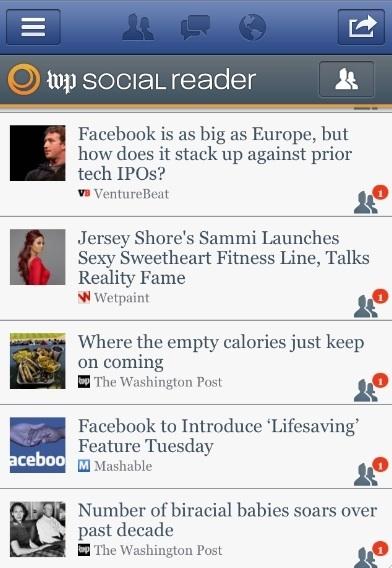 MAJ : Les social readers des éditeurs sur Facebook sont-ils désertés? | Les stratégies de la presse sur les réseaux sociaux | Scoop.it