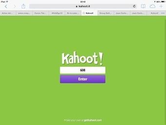 Kahoot! : aprendizaje basado en el juego   juego, convivencia   Scoop.it
