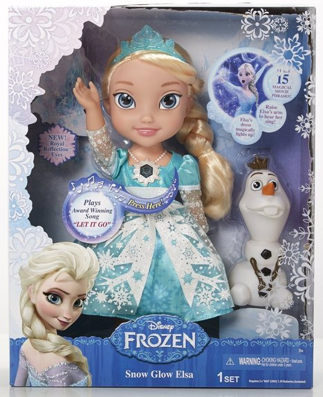 The Disney Frozen Snow Glow Elsa Doll is the Perfect Gift for Your Little One   Children's Educational Toys   Scoop.it