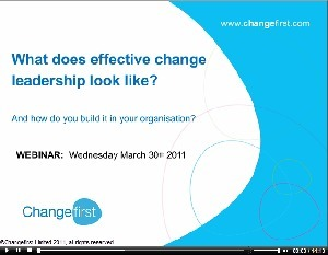 What does effective change leadership really look like? | Leadership in Distance Education | Scoop.it