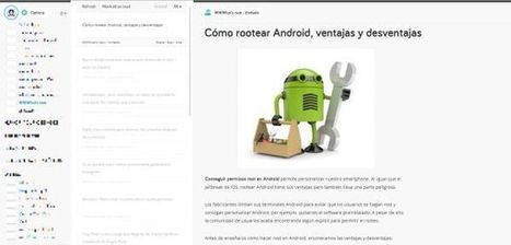 Probamos SubReader, interesante gestor de feeds | Edu-Recursos 2.0 | Scoop.it