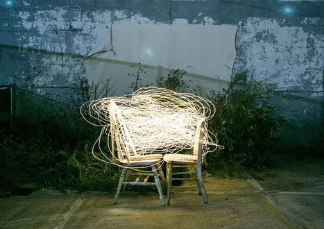 INTERVIEW : Le Light Painting Animé De Lucea Spinelli   Graine De Photographe The Blog   a million pages   Scoop.it
