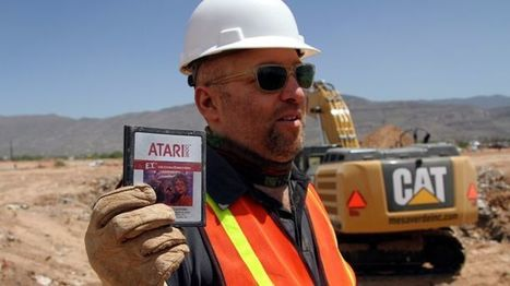 "Unearthed 'E.T.' Atari Games Sell for $108,000 at Auction | Buffy Hamilton's Unquiet Commonplace ""Book"" 