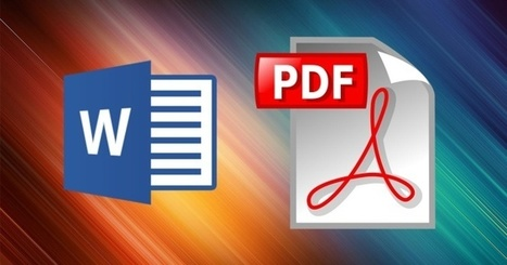Como meter un PDF en un archivo de Word | Help and Support everybody around the world | Scoop.it