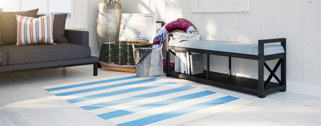 Nautical style   Inspiration and decorating with Handmade carpets   Scoop.it