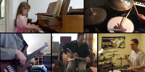 YouTuber edits 23 videos of amateur musicians into a masterpiece | Tout Numérique | Scoop.it
