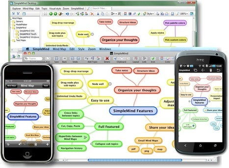 SimpleMind - desktop mind mapping tool for IOS and android too | Create, Innovate & Evaluate in Higher Education | Scoop.it