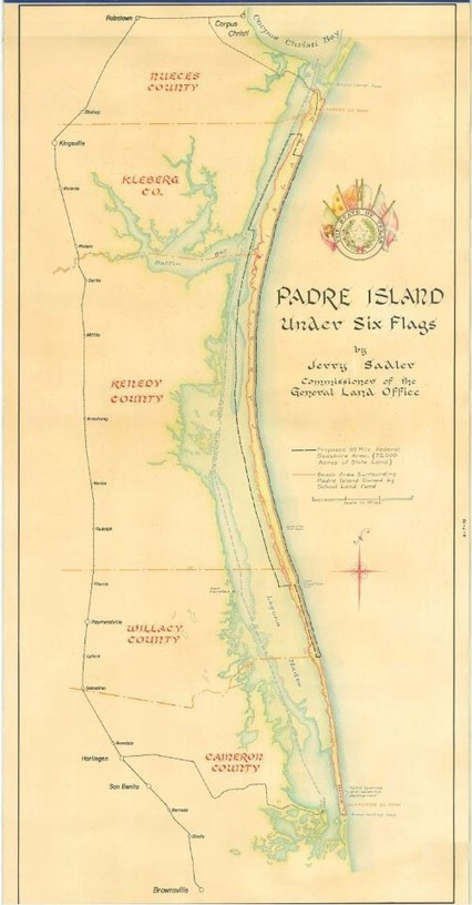 Mapping Texas: The Gulf Coast — Coastal Islands – Save Texas History – Medium | Texas Coast Real Estate | Scoop.it