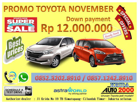 Promo Toyota Avanza & Toyota Sienta DP MURAH Akhir Tahun - Kolom Otomotif   BERITA SATU MEDIA   Scoop.it
