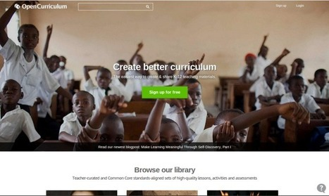 OpenCurriculum Looks To Foster Open-Source Education By Releasing Free ... - TechCrunch | Oppen Source & Linux Training | Scoop.it