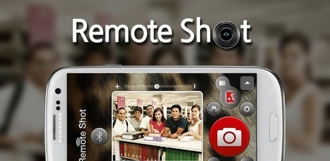 Remotely Control Your iPhone, Android Camera With Remote Shot | App..Apps | Scoop.it