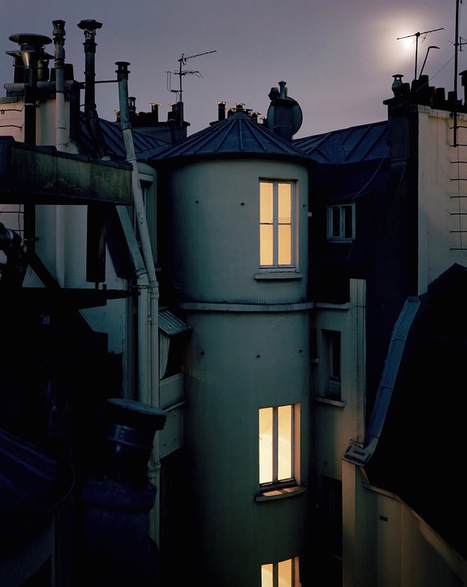 Paris Rooftops by Night | Travel & Backpacking | Scoop.it