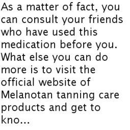 Why Should You Buy Melanotan 2?   Melanotan Injections   Scoop.it
