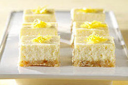 Lemon Cheesecake Bars | Essential Oils Recipe | Scoop.it