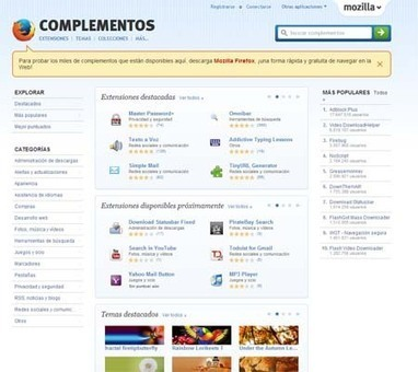 ¿Cómo personalizo mi navegador Firefox? | Tic educación | Scoop.it