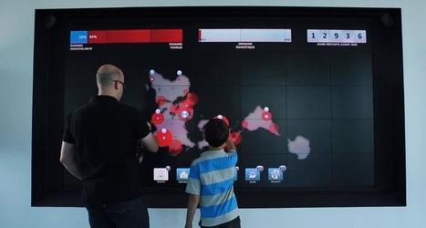 Un jeu interactif sur un mur tactile géant à la Biosphère de Montréal   Cabinet de curiosités numériques   Scoop.it