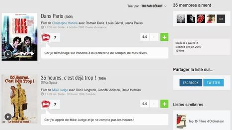 Candidature originale : un community manager détourne Sens Critique pour postuler - Mode(s) d'emploi | Web, E-tourisme & Co | Scoop.it