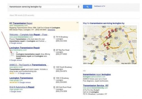 Is Google+ Beginning To Integrate Into Google Places? | ScoopSEO | Scoop.it