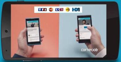TF1 investit dans une application de recherche d'emploi | DocPresseESJ | Scoop.it