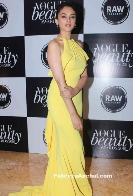 Aditi Rao Hydari in Yellow Gown by Gauri & Nainika   Indian Fashion Updates   Scoop.it
