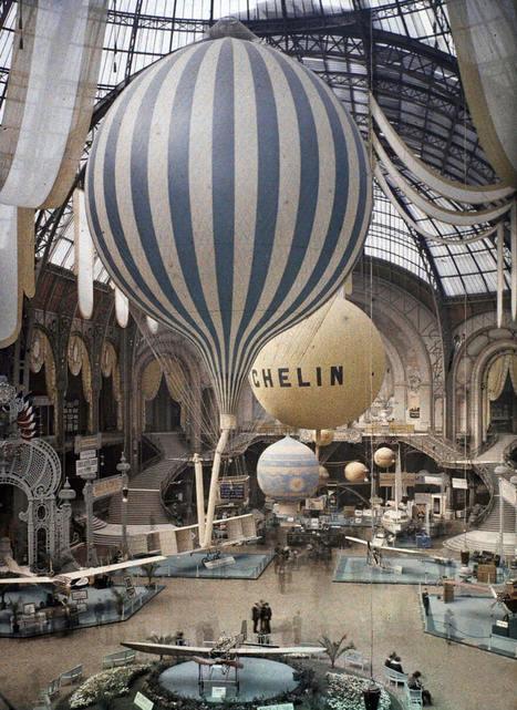 De rares photos en couleurs de Paris prises il y a 100 ans | Décoration, tendances et bons plans | Scoop.it
