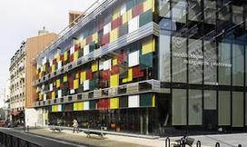 Ludique... Médiathèque parisienne par Babel Architecture   Rendons visibles l'architecture et les architectes   Scoop.it