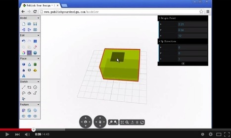 3 Powerful Chrome Apps for Creating 3D Models | tecno4 | Scoop.it