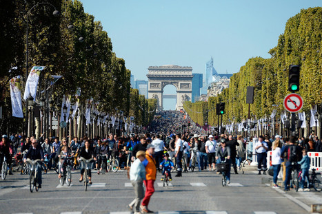 Paris' Day Sans Cars Shows Us What Our Cities Can Be   WIRED   Urbanisme   Scoop.it