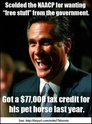 More GOP calls for Romney to release tax returns; take a look at his $77K dancing horse tax deduction | Daily Crew | Scoop.it