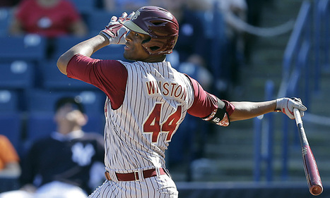 Jameis Winston is enjoying his time playing Florida State baseball | Sports News | Scoop.it