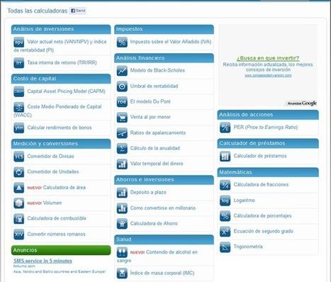 Calkoo: Calculadoras y conversores online - RedDOLAC - Red de Docentes de América Latina y del Caribe - | Análisis Matemático y Tics | Scoop.it