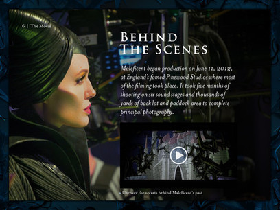 Maleficent: The Official Multi-Touch Book FREE on iTunes #MaleficentEvent - FSM Blogs | Disney News | Scoop.it