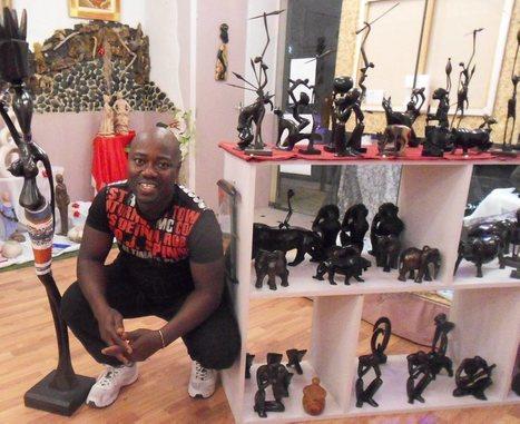 France - Bénin - Un sculpteur béninois à découvrir  à Saint-Juéry | Actions Panafricaines | Scoop.it