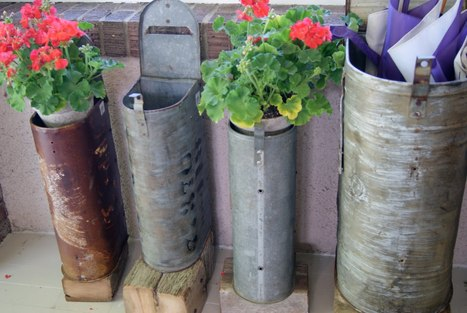 Mailbox planters | Upcycled Garden Style | Scoop.it