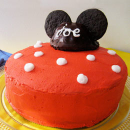 Disney Recipe: Mickey's All-Ears Cake | Food | Themed Cake How To's | Scoop.it
