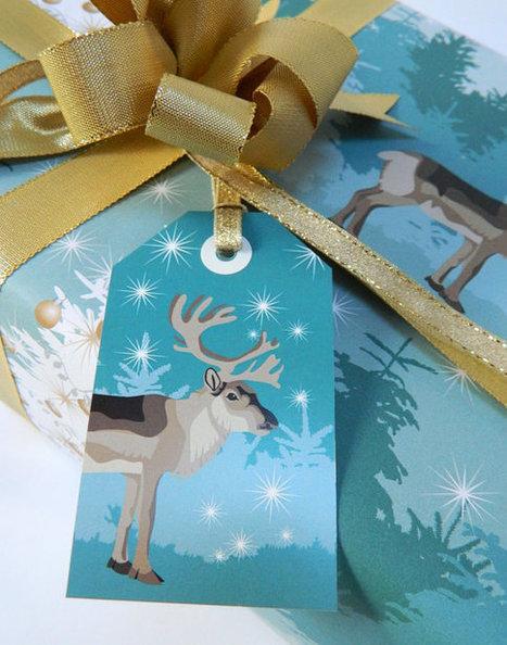 Winter Woodland Gift Wrap Set   Etsymode   Scoop.it