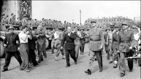 Il y a 100 ans  (25 août 1944): la libération de Paris et le Général de Gaulle | FLE et nouvelles technologies | Scoop.it